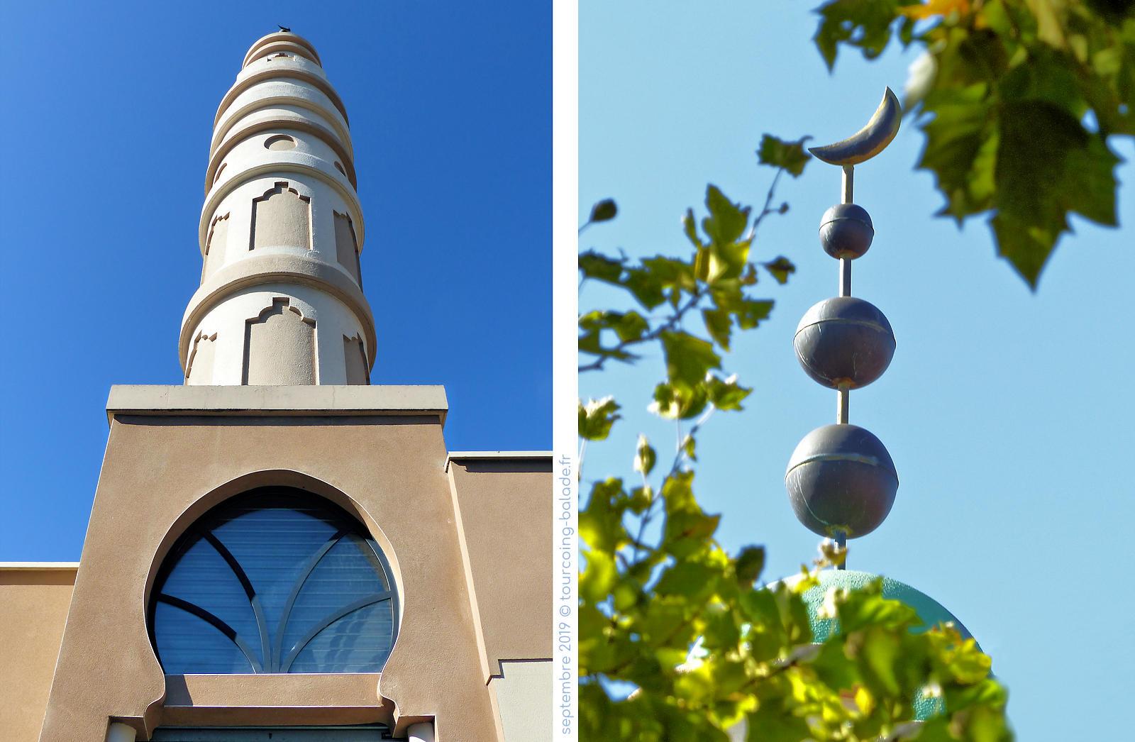 Mosquée Es-Salam, Tourcoing - Minaret