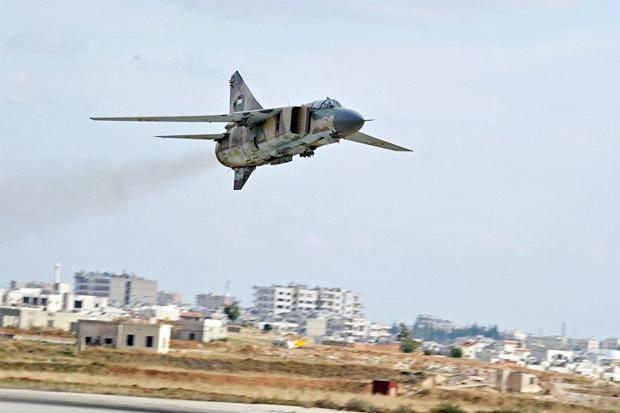 ISIS Tembak Jatuh Pesawat Tempur Suriah