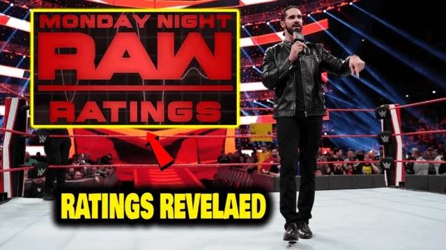 मंडे नाईट RAW की चौंका देने वाली रेटिंग्स आयी सामने