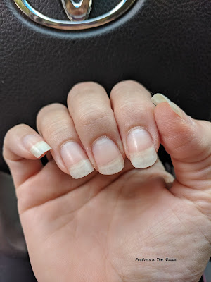 Nails after using cuticle oil for 3 months