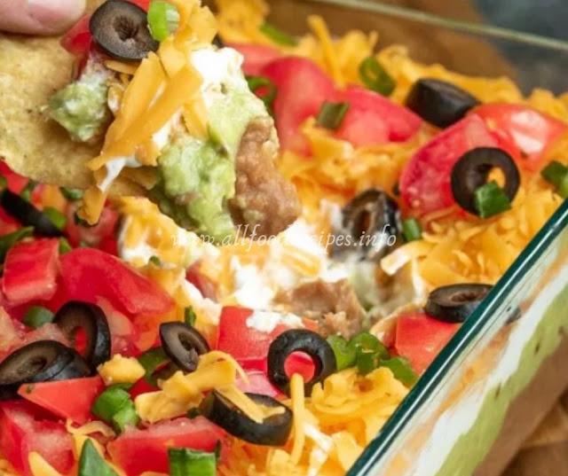 Delicious Mexican Dip Layer
