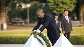 In Historic Visit To Hiroshima, Obama calls On The World To Morally Evolve