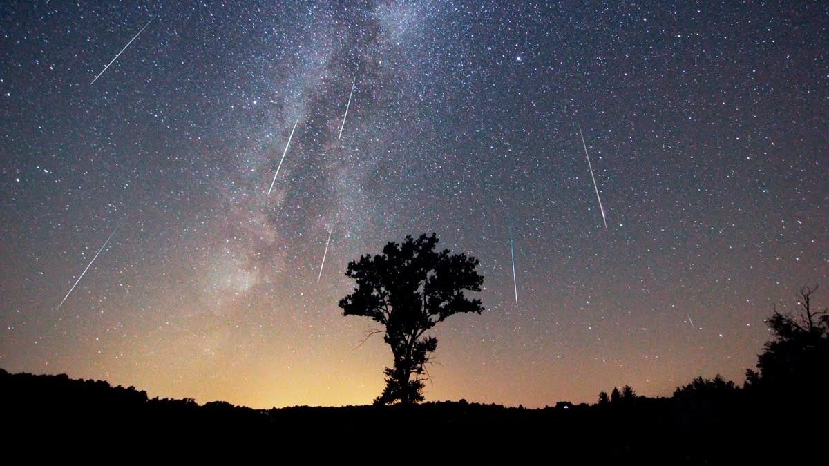 Lluvia de meteoros Perseidas 2020