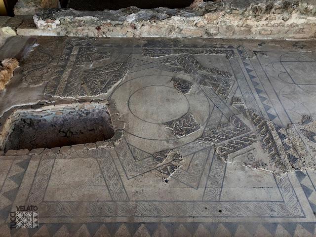 Sala privada que correspondía al dominus de la villa romana de El Ruedo en Almedinilla