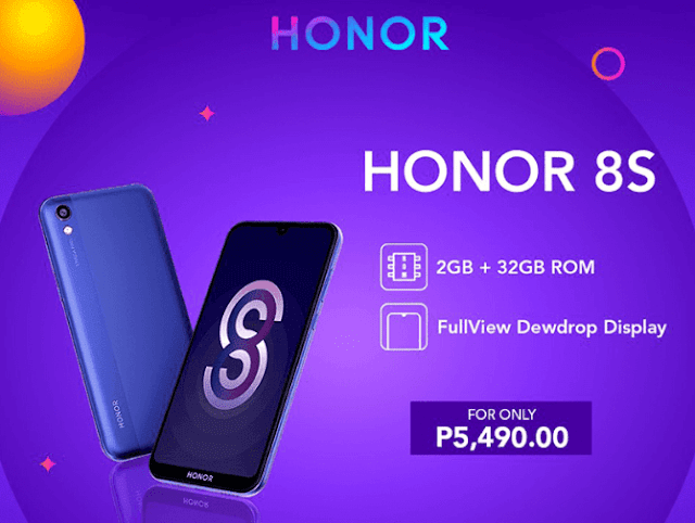 Honor 8S priced and availability in the Philippines