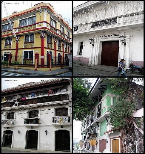 visiting the colonial houses of Intramuros