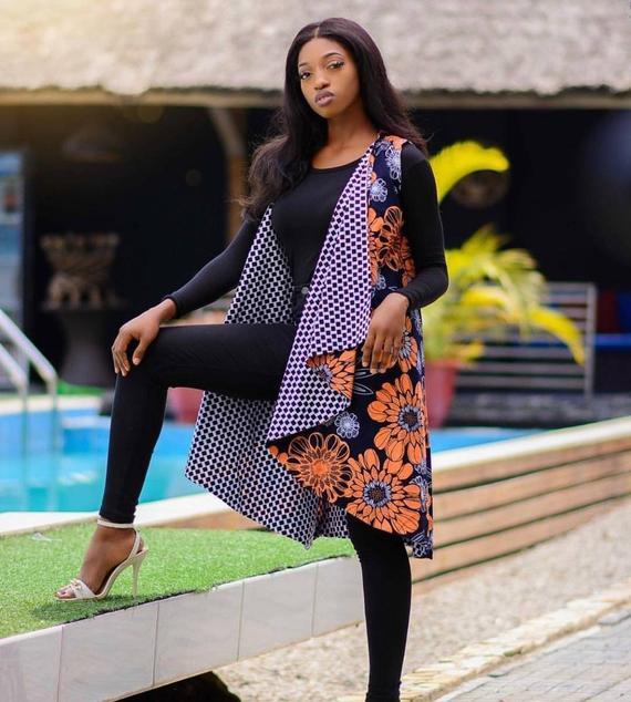 Mode, tendance, veste, bomber, réversible, tissu, pagne, wax, deux, côtés, style, look, LEUKSENEGAL, Dakar, Sénégal, Afrique