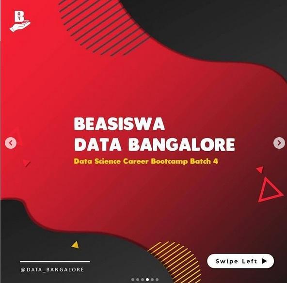 BEASISWA FULL BOOTCAMP DATA BANGALORE