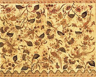 Gambar Corak Batik Tradisional Khas Solo