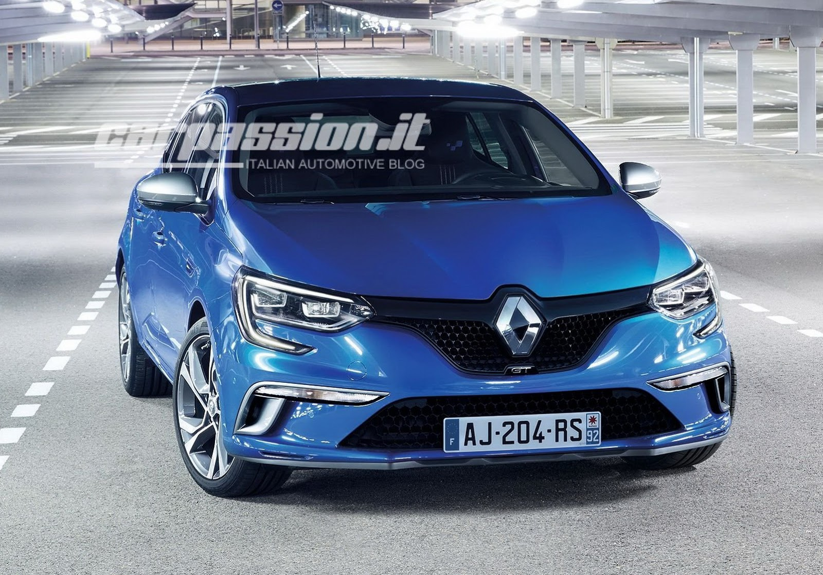all new 2016 renault megane revealed in official photos carscoops. Black Bedroom Furniture Sets. Home Design Ideas