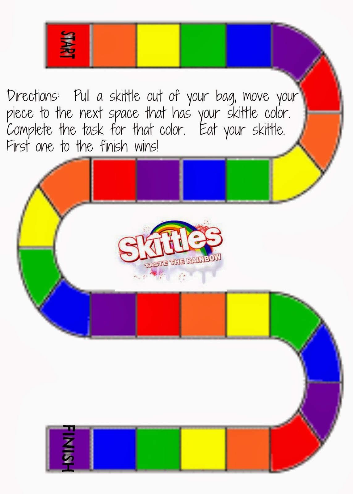 Living A Rad Life Skittles Game