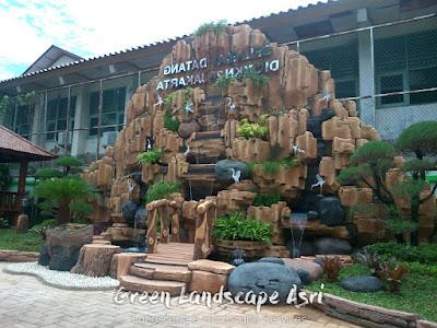 Jasa Pembuatan Relief Kolam Tebing Grobogan   Tukang Dekorasi Relief Air Terjun