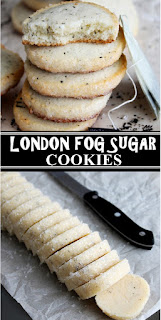 LONDON FOG SUGAR COOKIES #cookiesrecipes