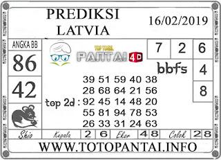 """Prediksi Togel """"LATVIA"""" PANTAI4D 16 FEBRUARI 2019"""