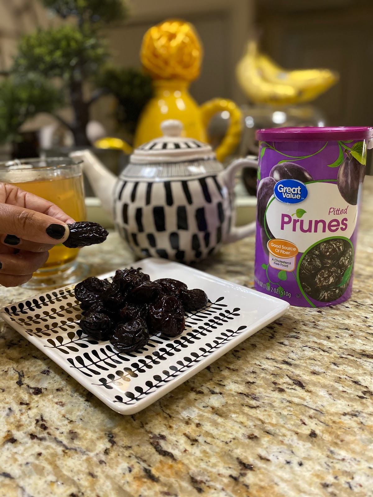 Eating Prunes for Spring To help lose tummy fat and release bowels