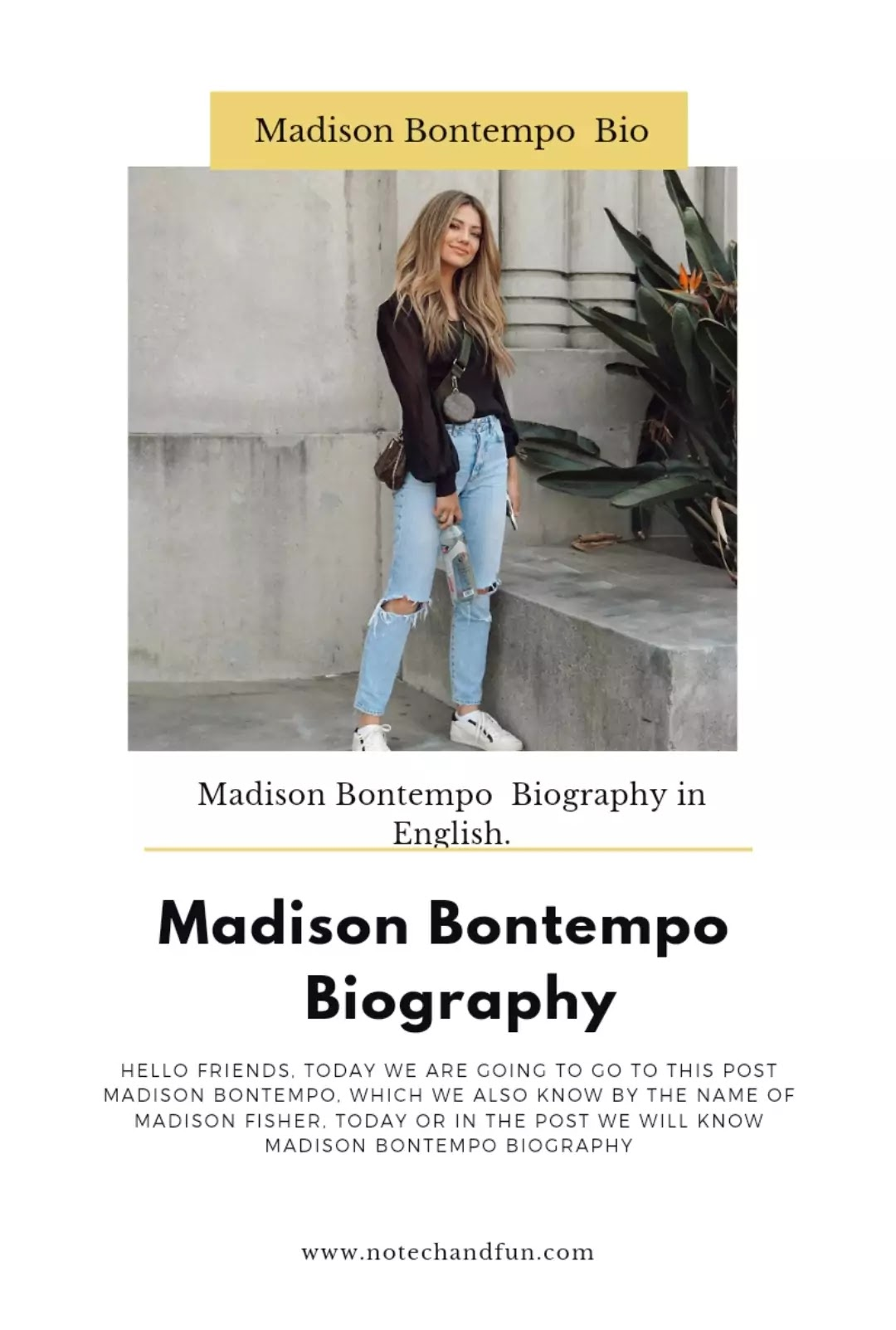Madison Bontempo Biography