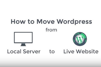 Wordpress from Local Server to Live Website