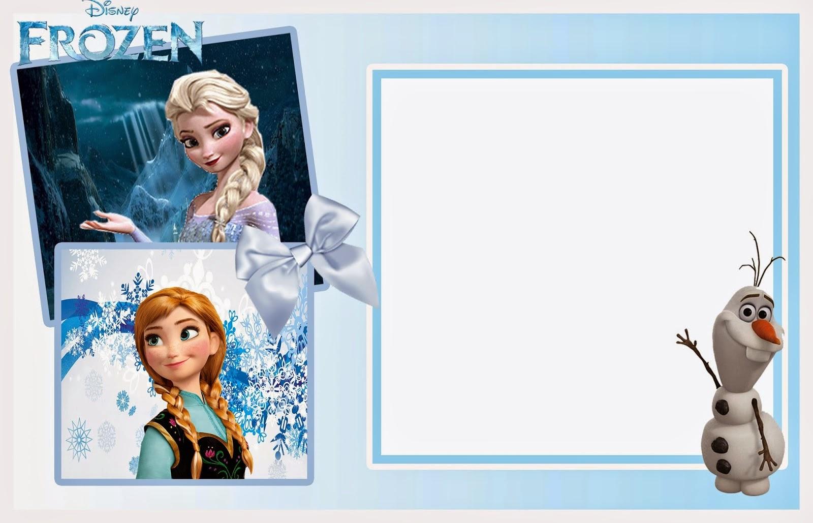 Холодное сердце открытка приглашение, открытке