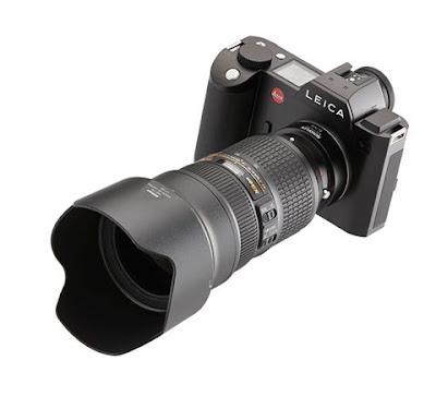 Адаптер Novoflex для объективов Nikon и камеры Leica SL