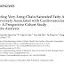 Os ácidos graxos saturados de cadeia muito longa circulantes foram inversamente associados à saúde cardiovascular.
