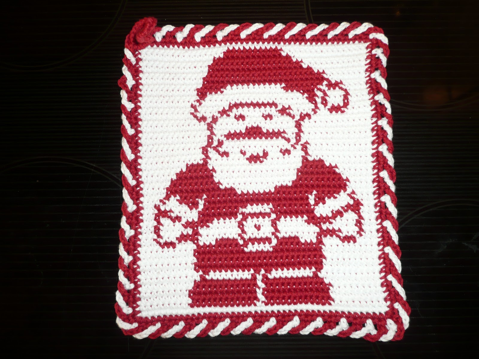 Haekeltante1403 Topflappen Weihnachtsmotive Häkeln