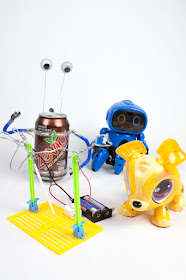 How to create your own Summer STEM and Robotics Camp at home- here's a review of 4 kits