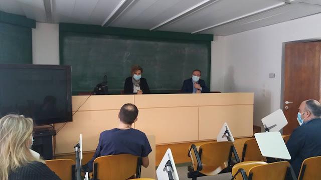 Επίσκεψη Όλγας Γεροβασίλη στο Νοσοκομείο Άρτας