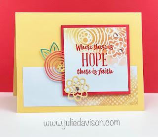 August 2021 Paper Pumpkin: 8 Hope Box Alternative Projects + VIDEO ~ www.juliedavison.com #paperpumpkin