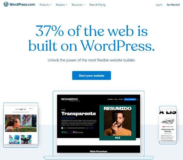 wordpress best website builder small business sites