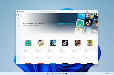 Keunggulan windows 11 mendukung aplikasi android