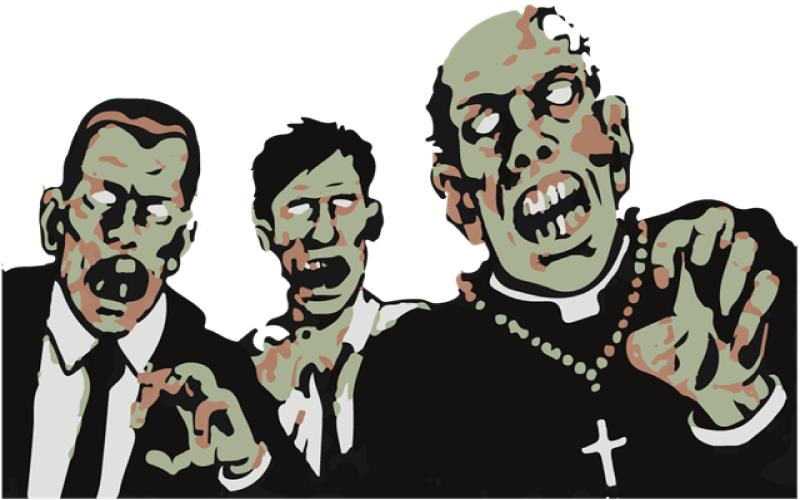 Descubra o que um fánatico religioso e um zumbi têm em comum