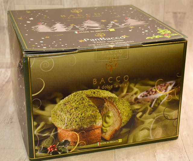 Presentation Box for Pistachio Panettone Cake