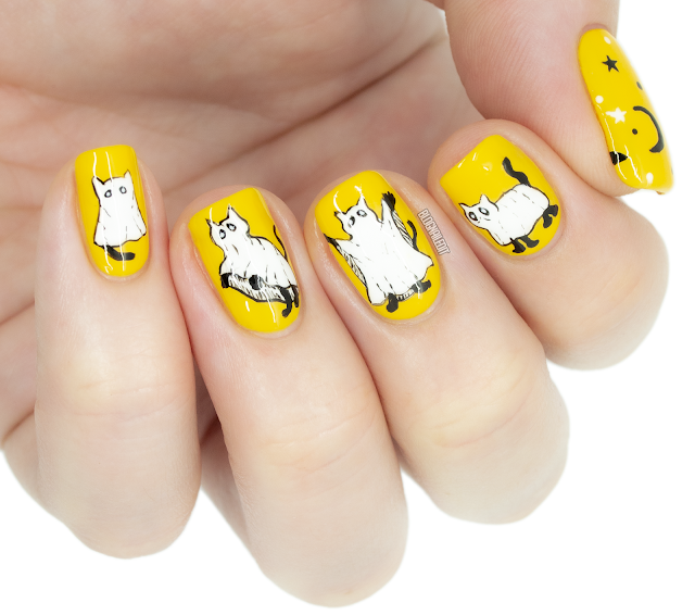 ghost cat nails