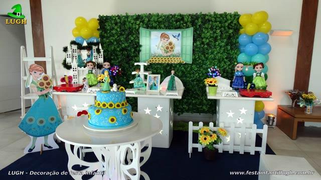 Decoração Aniversário da Anna,  Frozen - Uma Febre Congelante para festa infantil - Jacarepaguá - RJ