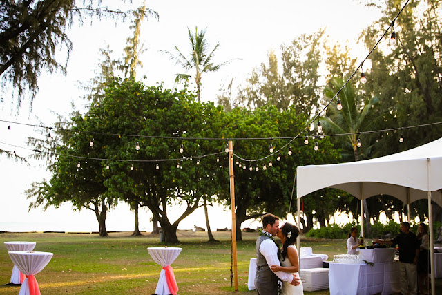 C D And Mariko May 17th 2017 Waimea Plantation Cottages Planning Mira Events Ceremony Music Paul Dj Mc Donovan