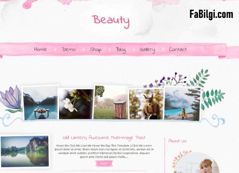 Blogger Kadın Kullanıcılar için Seo Uyumlu Ücretsiz Tema İndir 2020