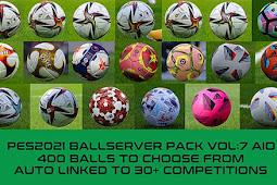 New Balls Server V7 Season 2021 AIO - PES 2021