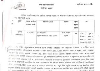पुणे महानगरपालिका शिपाई भरती 2021- Pune Municipal Corporation Peon Recruitment 2021