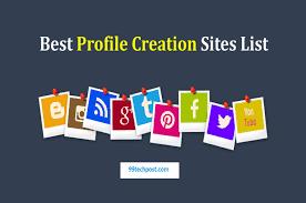 Free profile creation sites 2019