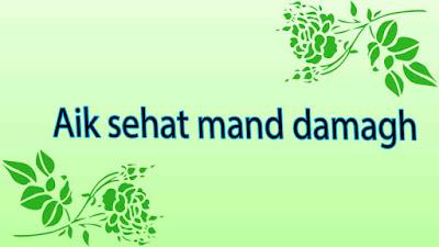 3- Aik sehat mand damagh