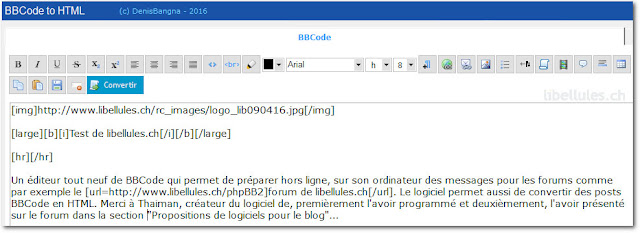BBCode2HTML