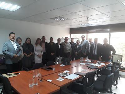 Reunión ICTJ, Fundación Aulas de Paz y Colectivo Desmovilizados AUC - Bogotá.