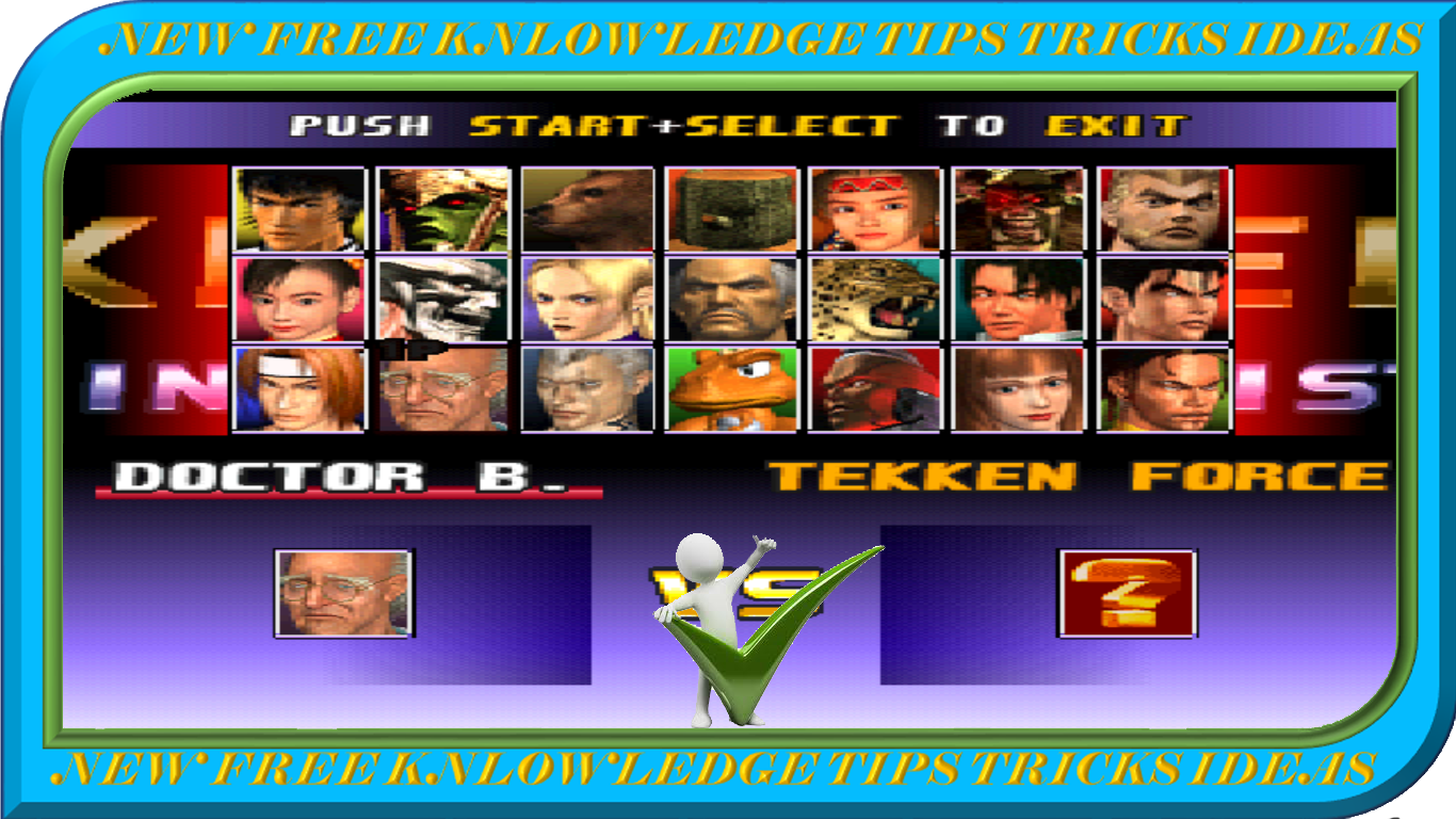 Free Download Tekken 3 Full Version Game With Psv File New Free Knowledge Tips Tricks Ideas