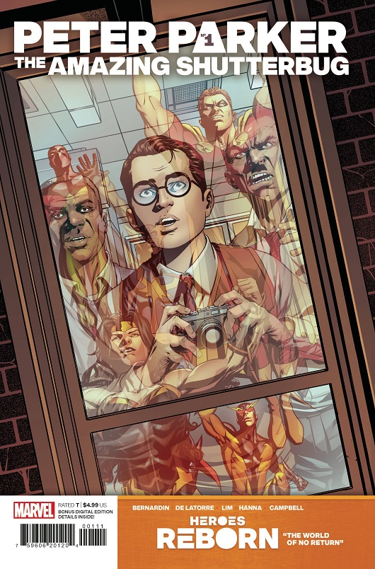 Cover of Heroes Reborn: Peter Parker - Amazing Shutterbug #1