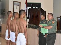 Pangdam XIII/Merdeka Pimpin Pantukhir Catam Gelombang 1 Tahun 2019