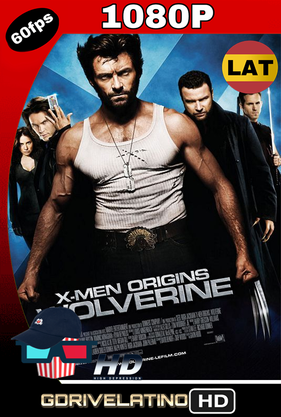 X-Men Orígenes – Wolverine (2009) BDRip 1080p Latino-Ingles MKV