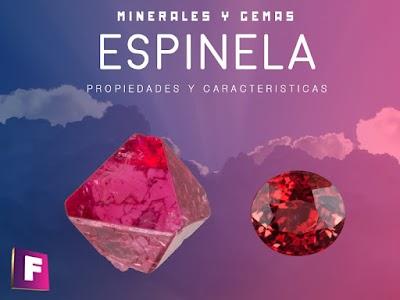 Espinela - Propiedades, características, variedades y su uso en joyería