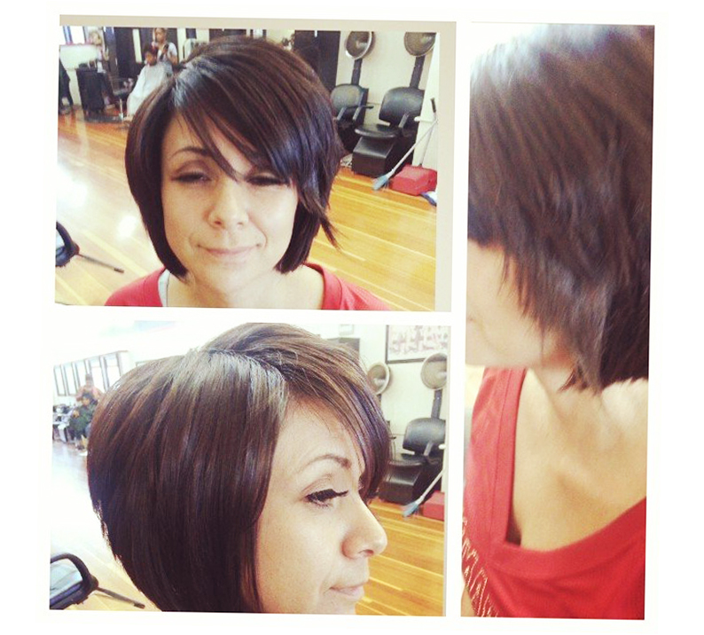 Terrific A Line Bob With Side Bangs Hairtstyles Ellecrafts Short Hairstyles Gunalazisus