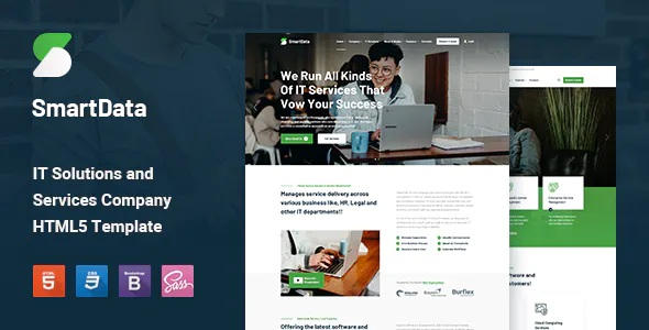 Best IT Solutions & Services HTML5 Template