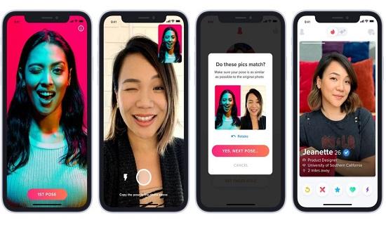Tinder introduces photo verification feature